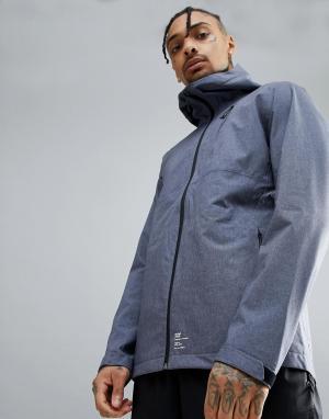 Jack & Jones Спортивная куртка Core Performance. Цвет: серый