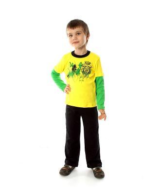 Комплект одежды Апрель. Цвет: желтый, черный