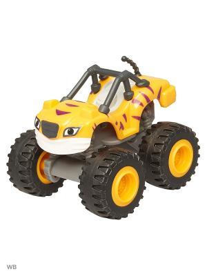 Базовые машинки из пластика Mattel. Цвет: желтый