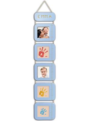 Ростомер с отпечатками Baby Art. Цвет: голубой