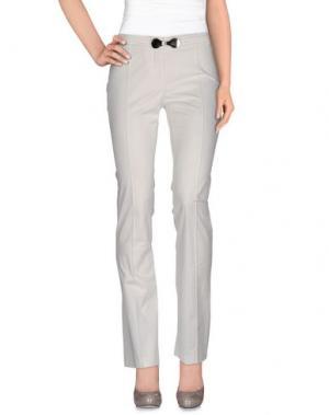 Повседневные брюки X'S MILANO. Цвет: слоновая кость
