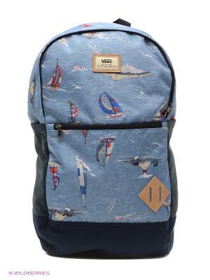 Рюкзак VANS. Цвет: синий