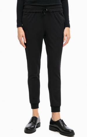 Черные брюки джоггеры rich&royal. Цвет: черный
