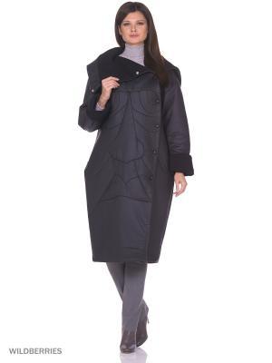 Пальто Face Long Katya Erokhina. Цвет: черный