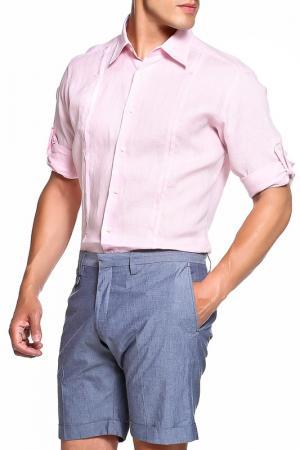 Рубашка Karl Lagerfeld. Цвет: розовый