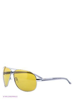 Солнцезащитные очки Legna. Цвет: желтый