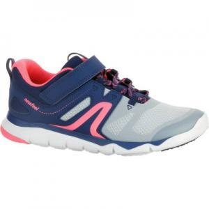 Детская Обувь Для Спортивной Ходьбы Pw 540 - Серая/синяя/розовая NEWFEEL