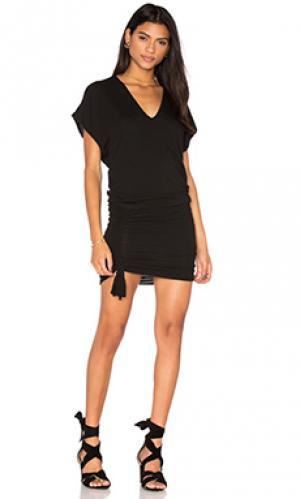 Платье corky Riller & Fount. Цвет: черный