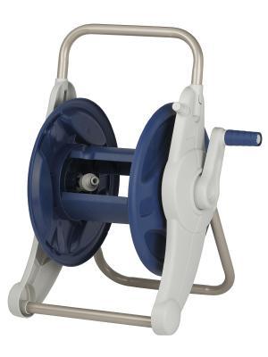 Катушка компактная с ручкой для переноса и хранения шланга, до 12мм(1/2), GREEN APPLE. Цвет: синий