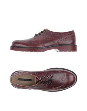 Обувь на шнурках EMANUÉLLE VEE. Цвет: баклажанный
