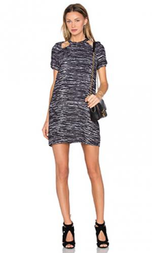 Мини платье the oslo TY-LR. Цвет: черный