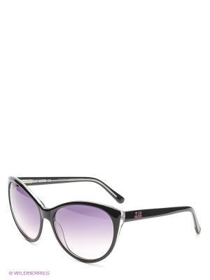 Солнцезащитные очки ML 520S 02 MOSCHINO. Цвет: черный