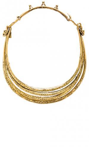 Ожерелье soul seeker Natalie B Jewelry. Цвет: металлический золотой