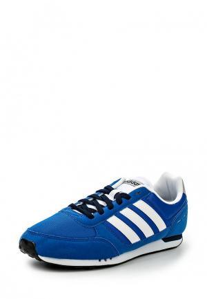 Кроссовки adidas Neo. Цвет: синий