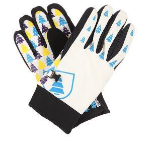 Перчатки сноубордические  Open White Picture Organic. Цвет: черный,белый