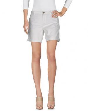 Повседневные шорты BLAUER. Цвет: белый