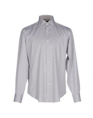 Pубашка CARLO PIGNATELLI. Цвет: светло-серый