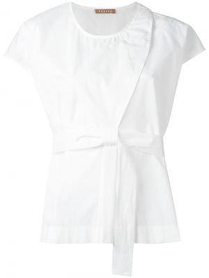 Блузка Bip Nehera. Цвет: белый