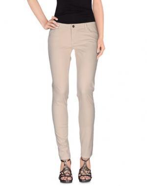 Джинсовые брюки GOLD CASE. Цвет: абрикосовый