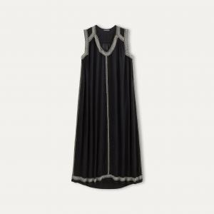 Платье CONKA ANTIK BATIK. Цвет: черный
