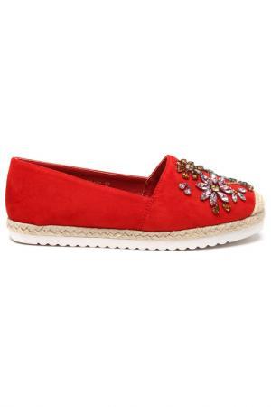Балетки SpringWay. Цвет: красный