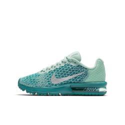 Беговые кроссовки для школьников  Air Max Sequent 2 Nike. Цвет: зеленый