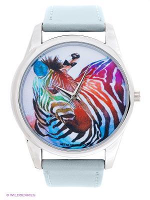 Часы Mitya Veselkov. Цвет: серо-голубой