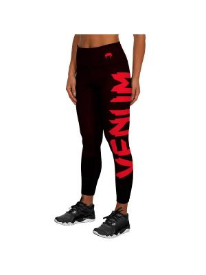 Тайтсы Venum Giant Black/red. Цвет: черный, красный