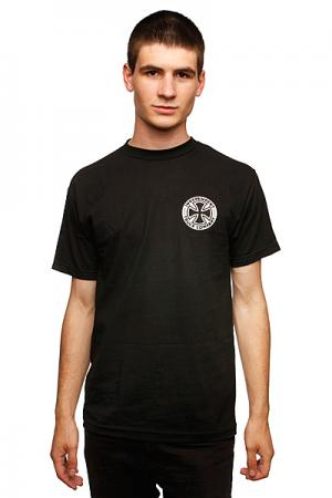 Футболка  Bombard Black Independent. Цвет: черный