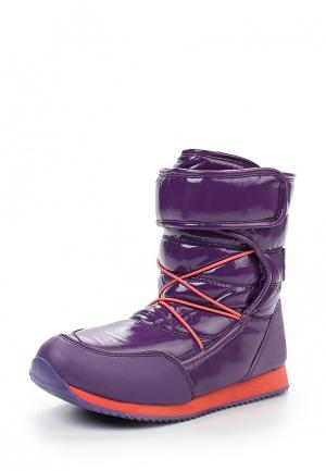 Дутики Mon Ami. Цвет: фиолетовый