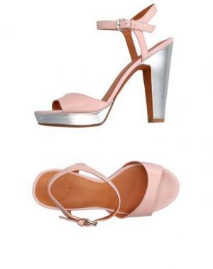 Сандалии MARC BY JACOBS. Цвет: светло-розовый