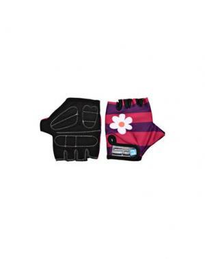 Перчатки CRAZY SAFETY. Цвет: розовато-лиловый