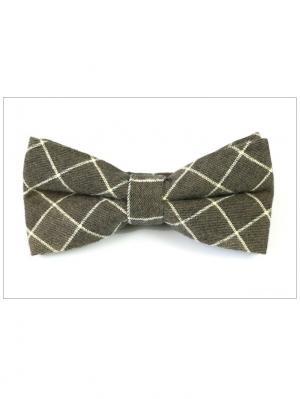 Галстук-бабочка Churchill accessories. Цвет: серый