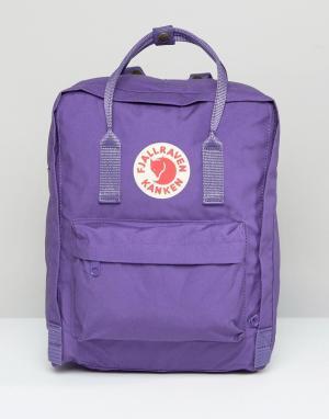 Fjallraven Фиолетовый рюкзак Kanken. Цвет: фиолетовый