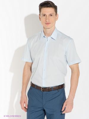 Рубашка Greg Horman. Цвет: светло-голубой