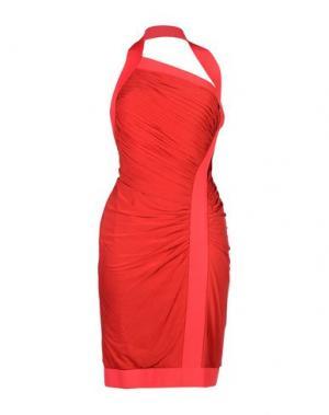 Короткое платье HERVE' L. LEROUX. Цвет: красный