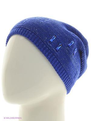 Шапка Krife. Цвет: синий, голубой