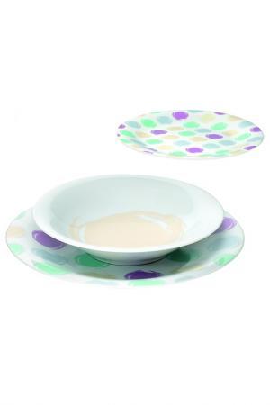 Набор тарелок GUZZINI. Цвет: мультиколор