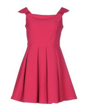 Короткое платье G.SEL. Цвет: фуксия