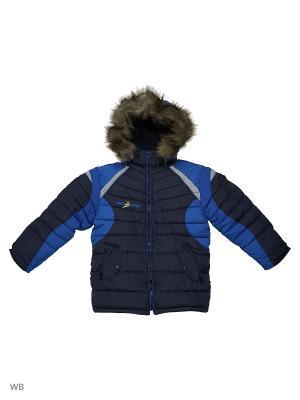 Куртка утепленная для мальчика Десант Пралеска. Цвет: синий
