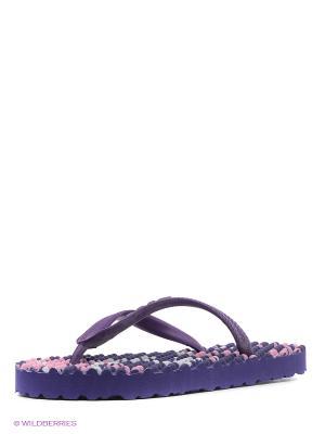 Шлепанцы SOULS. Цвет: фиолетовый