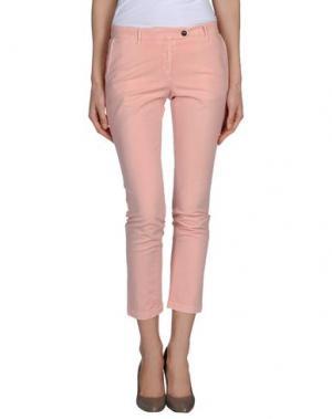 Повседневные брюки G.T.A. MANIFATTURA PANTALONI. Цвет: розовый