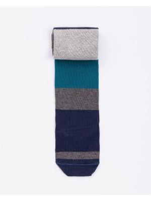 Колготки Mark Formelle. Цвет: темно-синий, бирюзовый, серый