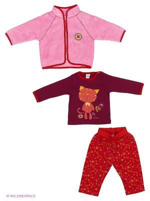 Комплект одежды Yallo Kids. Цвет: розовый