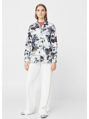 Куртка - PEONIA Mango. Цвет: светло-бежевый