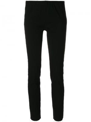 Укороченные брюки Uma Wang. Цвет: чёрный
