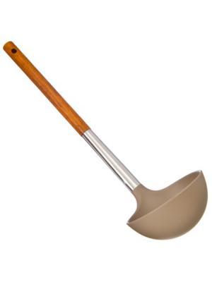Веросса Половник, нейлон, ручка нерж.сталь, дерево Vetta. Цвет: серый, оранжевый