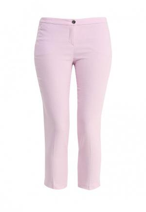 Брюки Trussardi Jeans. Цвет: розовый
