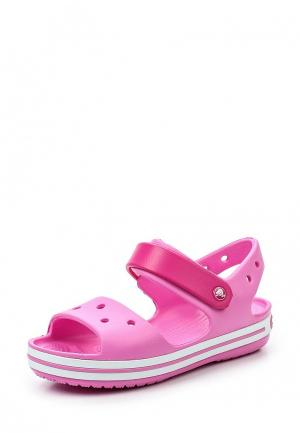Сандалии Crocs. Цвет: розовый
