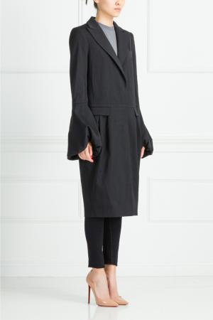 Шелковое пальто Gilmar. Цвет: черный